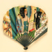 Advertising fan for The Hotel Cecil; Grellet, Georges, Maquet; 1920s; LDFAN2013.30.HA