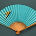 Advertising fan for British Overseas Airways Corporation (BOAC) - Speedbird; Adelman, K. M; c. 1950s; LDFAN1991.63