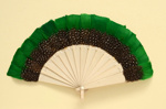 Feather Fan; c. 1920s; LDFAN2001.35
