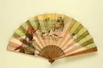 Advertising fan for Restaurant Larue; c.1906; LDFAN2003.96.Y