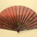 Folding Fan & Box; Billotey; c. 1890; LDFAN1989.20