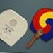 Fixed Fan & Folder; Korea National Tourism Organisation; 2002; LDFAN2011.141.A & LDFAN2011.141.B