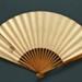 Folding fan produced for NY. K Line; c. 1937; LDFAN2003.413.HA