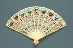Plastic Brisé Fan; 1990s; LDFAN1993.44