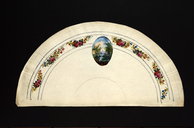 Fan Leaf; c.1790; LDFAN2010.45