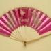 Folding Fan; c. 1860; LDFAN2010.8
