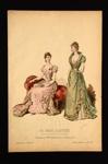 Fashion Plate; Huant, Anais Toudouze; 1891; LDFAN1990.91