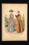 Fashion Plate; Anais Toudouze; 1889; LDFAN1990.65