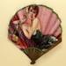 Advertising fan for St. Marceaux champagne ; Ganné, J; c. 1925-30; LDFAN2000.7