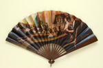 Folding fan advertising The Palace Theatre, London; 1903; LDFAN2006.91