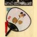 Fixed Fan & Miniature Fan; c. 2000; LDFAN2009.21.A & LDFAN2009.21.B
