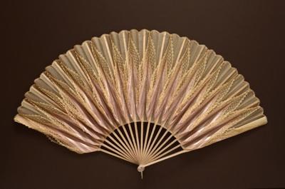 Folding Fan; c. 1900; LDFAN2010.108