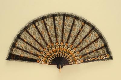 Folding Fan; c.1980s; LDFAN1994.28