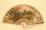 Folding Fan; c. 1920; LDFAN2001.2