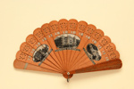 Advertising fan for Quarnero Majestic Hotel, Regina Majestic Hotel Abbazia & Grand Hotel Laurana; c.1900; LDFAN2011.129