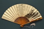 Folding fan produced for NYK Line; 1937; LDFAN2011.49