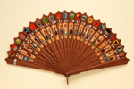 Brisé Fan in the Podani Style; c.1880; LDFAN2011.58