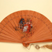 Folding fan with painting and calligraphy by the Wu Brothers. China, c. 1920; LDFAN2009.37