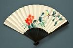 Folding Fan; c. 1980s; LDFAN1994.32