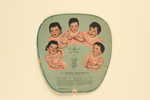 Advertising fan for The Dionne Quintuplets and Rulison & Garnsey; LDFAN2003.289.Y
