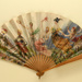 Folding fan advertising Cliquot champagne.; Leloir, Maurice; c. 1905; LDFAN2003.422.HA