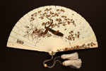 Ivory Brisé Fan with Shibayama, Japanese; 1880s; LDFAN2006.27
