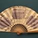 Advertising fan for Chemins de Fer de l'Etat; Ettlinger, Paris; c. 1900; LDFAN2003.414.HA