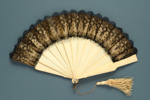 Folding Fan; c. 1860; LDFAN2003.8.Y