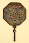 Fixed Fans (Pair); c. 1870s; LDFAN2002.27.A & LDFAN2002.27.B