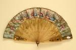Folding Fan; c. 1840-50; LDFAN1999.30