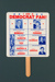 Advertising fan for the Democratic Party, USA; 1992; LDFAN2000.19