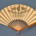Fan advertising Jay stockings and suspenders c. 1930; LDFAN2013.58.HA