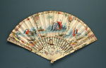 Folding Fan; Clarks Fan Maker; c. 1770; LDFAN1992.74