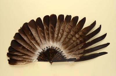 Feather Fan; LDFAN1989.12