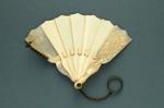 Miniature Brisé Fan; c. 1860; LDFAN2005.17