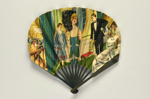 Advertising fan for The Hotel Cecil, London; G. Grellet; c.1920s; LDFAN2013.29.HA