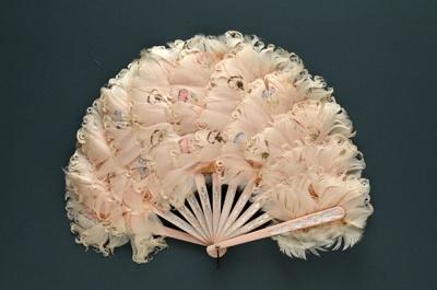 Feather Fan; c.1890-1900; LDFAN2002.12