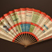 Folding fan advertising Chemins de Fer de l'Ouest; Fraipont, G; 1905; LDFAN2003.402.HA