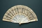 Folding Fan; c. 1890; LDFAN2011.85