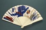 Folding Fan; c. 1990; LDFAN1998.51
