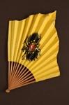 Advertising fan for Restaurant du Kursaal, Geneva, Switzerland; LDFAN2012.86