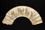 Satin Fan Leaf ; c.1860; LDFAN1988.15