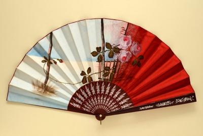 Folding Fan; c. 1880; LDFAN2003.247.Y