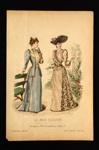 Fashion Plate; Anais Toudouze; 1891; LDFAN1990.89