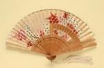 Folding Fan; c. 1990; LDFAN1998.7