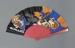 Red plastic fan; Frederick Gay; 2006; LDFAN2015.58