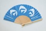 Advertising Fan, 'Les Azuriales', Credit Suisse; LDFAN2009.65