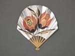 Folding Fan, Advertising 'Pierrot Gourmand'; LDFAN2020.33