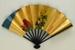 Folding fan advertising Japan Air Lines; c. 1970; LDFAN1994.41