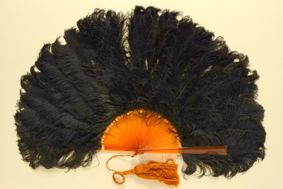 Feather Fan; c. 1920; LDFAN2009.59